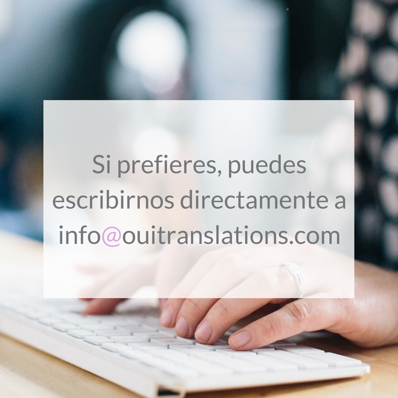 contacto oui translations